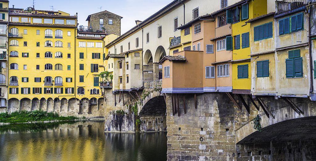 et prolongez le chemin jusqu'à Florence... bon voyage !