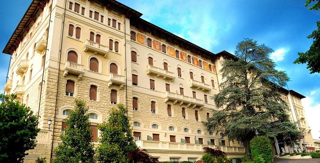 Le Grand Hotel Palazzo Della Fonte vous réserve un séjour entre luxe et calme
