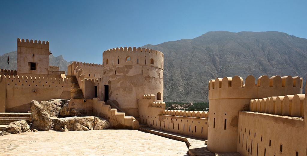 Oman regorge de forts et de châteaux