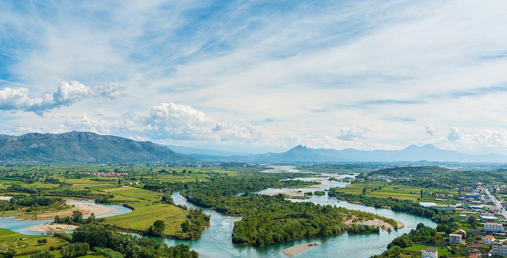 Photographie des paysages de l'Albanie