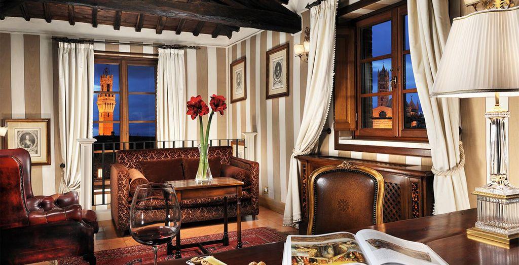 ... en plein coeur de la ville  - Grand Hotel Continental 5* Sienne