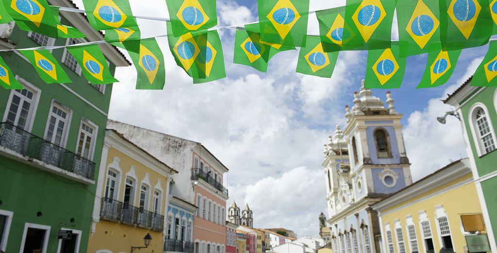 Avant de partir pour la ville métissée Salvador de Bahia!