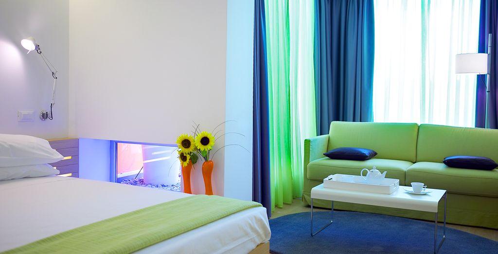 Vous passerez la première nuit de ce périple au Fresh Hotel à Athènes