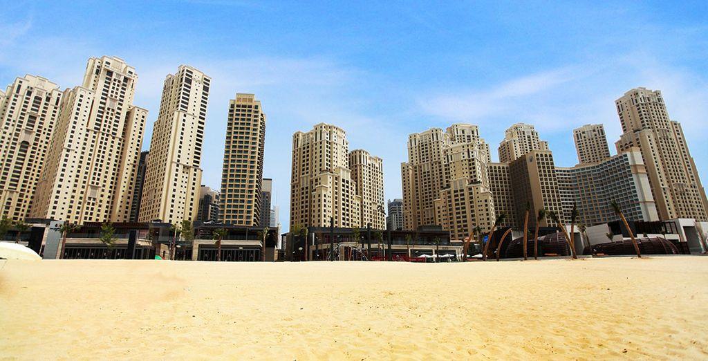 Au coeur du nouvel épicentre de Dubaï, sur le Golfe Persique