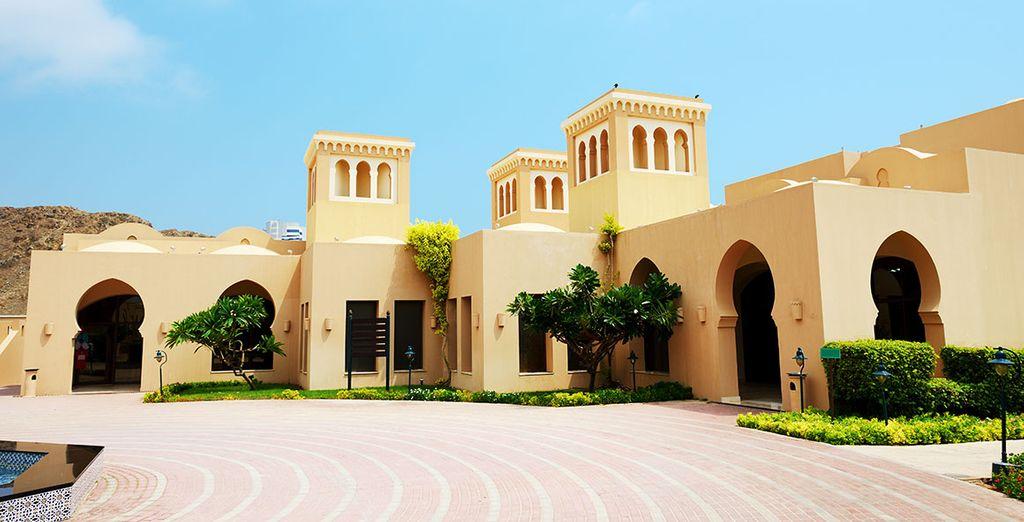 Découvrez le fort de Fujairah Khor Fakkan