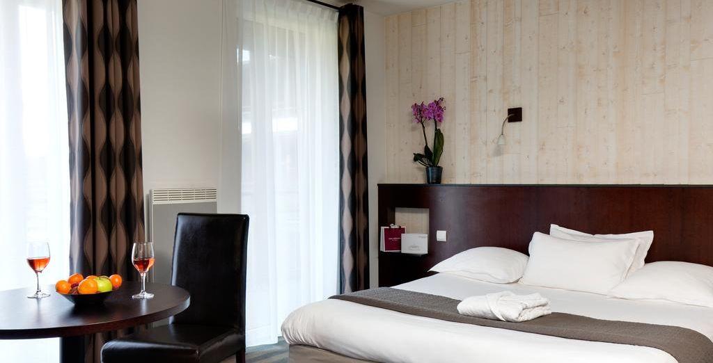 Hôtel haut de gamme 4 étoiles avec chambre double tout confort