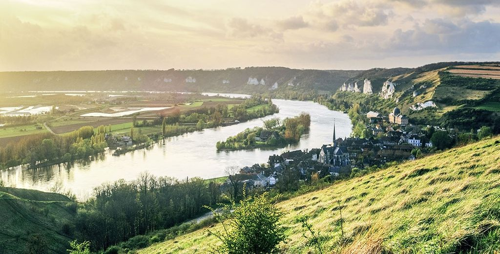 Paysage de la Normandie