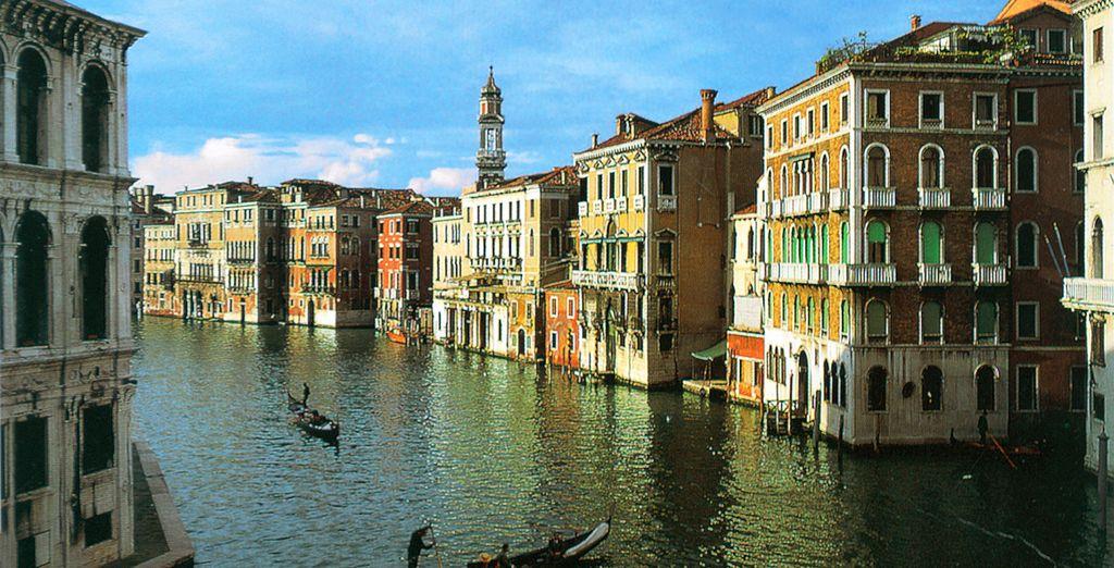 Au départ de la belle Venise
