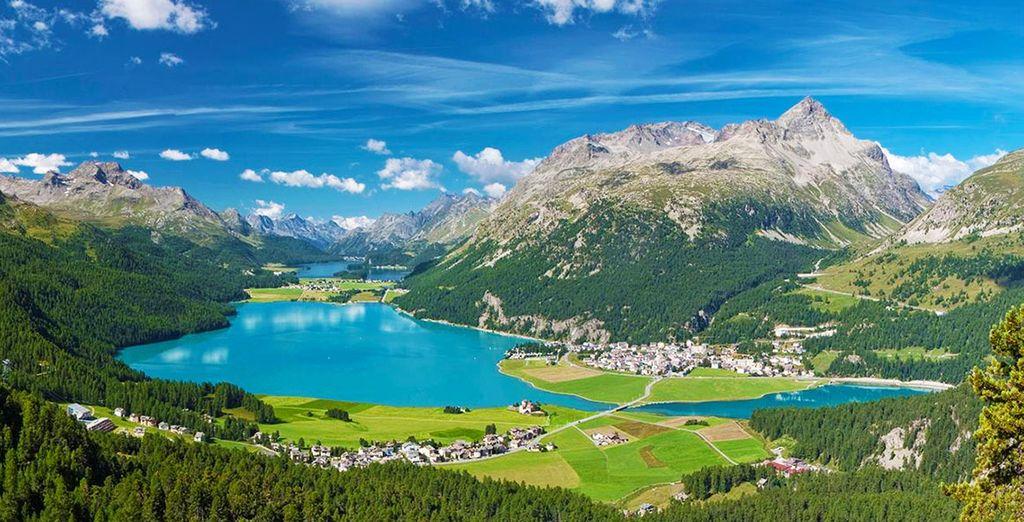 Entre lacs et montagnes, découvrez une nature de toute beauté...