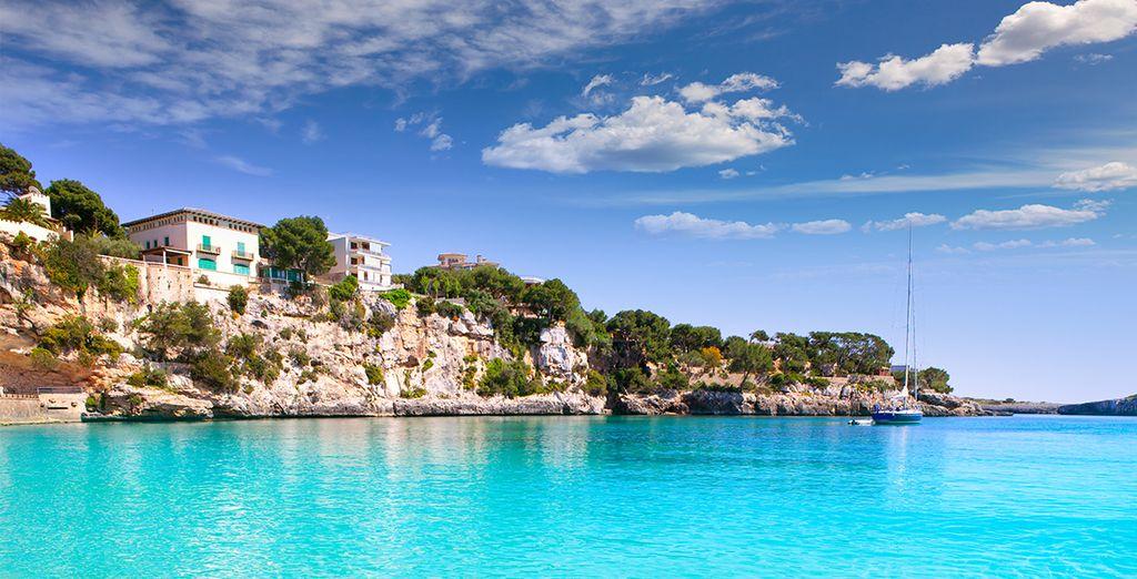 Offrez-vous un dégradé de bleu sur l'île de Majorque...