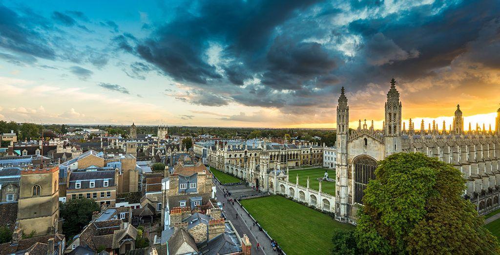 Visitez Cambridge et sa célèbre université