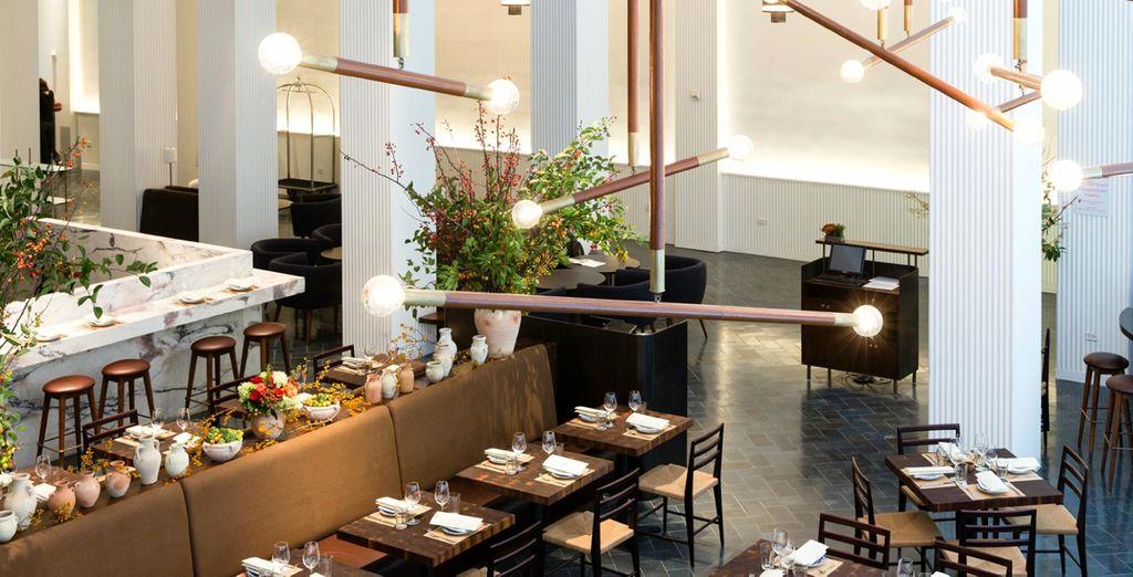 Chaque jour laissez-vous tenter par les saveurs gourmandes du restaurant italien de l'hôtel