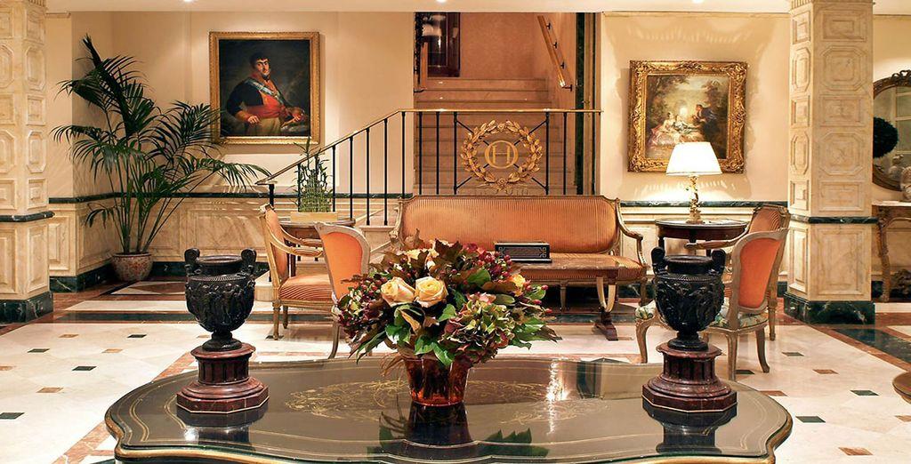 Dans l'hôtel Orfila 5* - Hotel R&C Orfila 5* Madrid