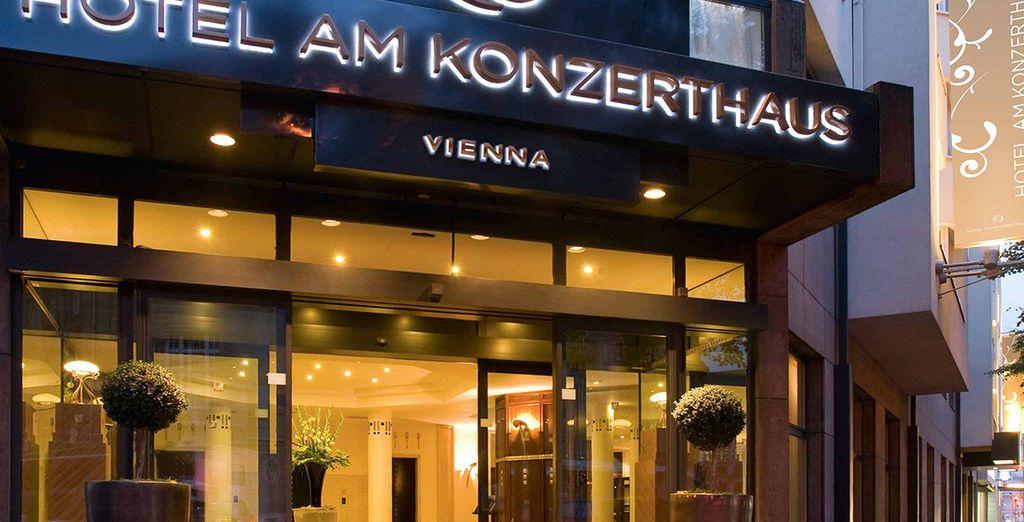 Installez-vous au Am Konzerthaus et découvrez la belle capitale de l'Autriche