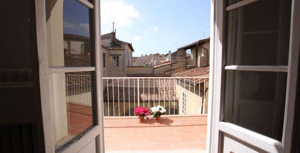 Une charmante vue sur Florence