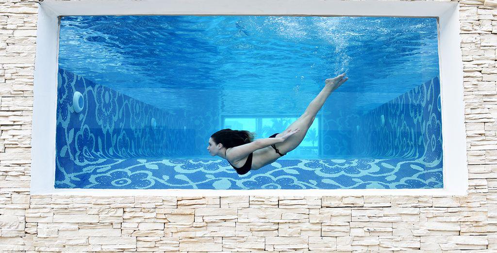Vous baignerez dans une atmosphère aussi relaxante que branchée