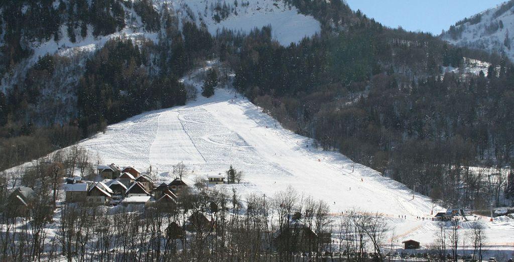 Et pourrez vous essayer à la glisse le long des 310 kilomètres du domaine skiable ! Bon séjour