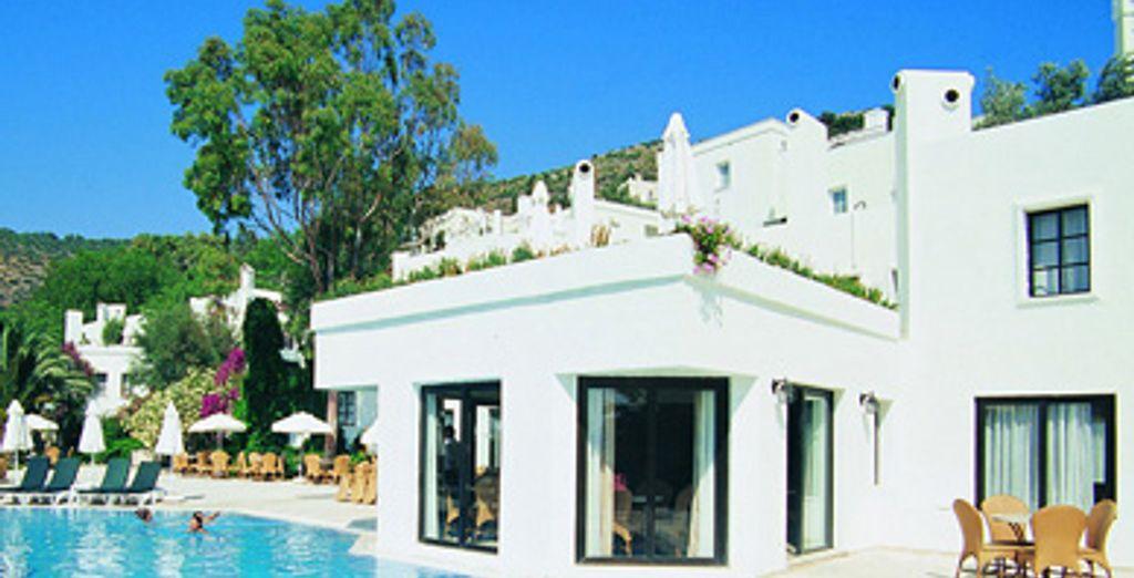 - Hôtel Club Vera TMT ***** ou Combiné Circuit Essentiel de la Turquie + Hôtel Club Vera TMT - Bodrum - Turquie Bodrum