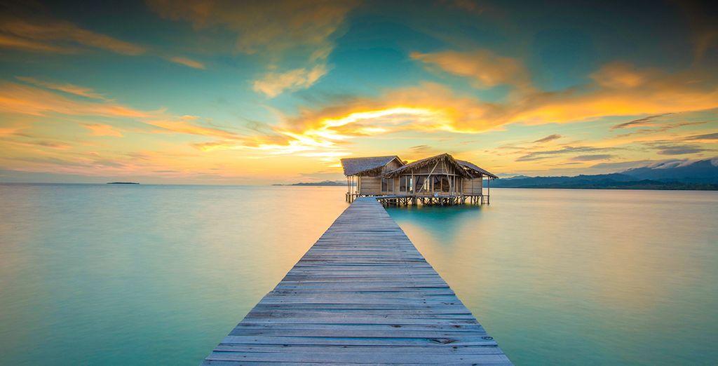Laissez-vous tenter par une extension de quelques nuits supplémentaires et rejoignez l'éco-resort Pulo Cinto