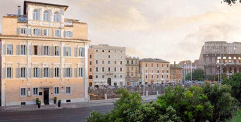 - Palazzo Manfredi ***** - Rome - Italie Rome