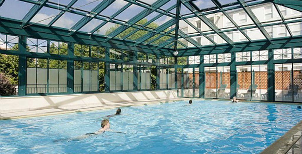 La piscine couverte - Résidence Maeva Centre La Rochelle