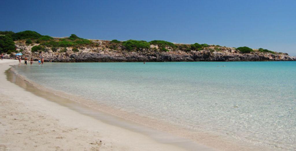 La plage de La Bobba