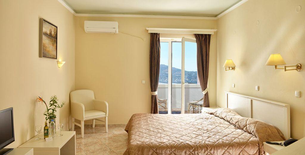 Appréciez le confort de votre chambre