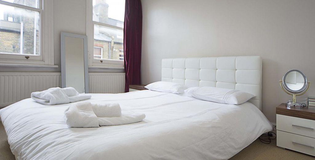 ... Avec un lit King size !