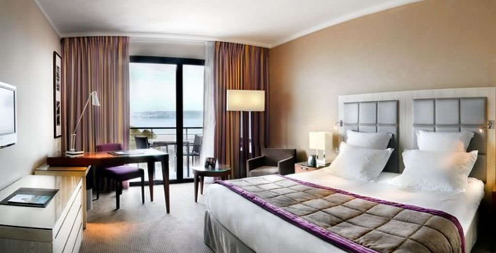 La chambre Hilton Deluxe