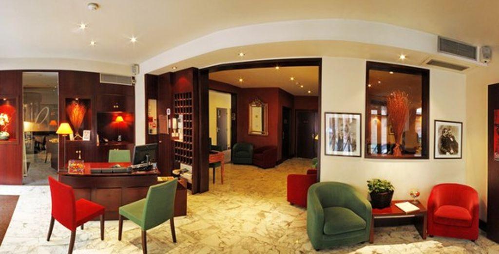 L'intérieur de l'hôtel - Hôtel Roosevelt **** Lyon