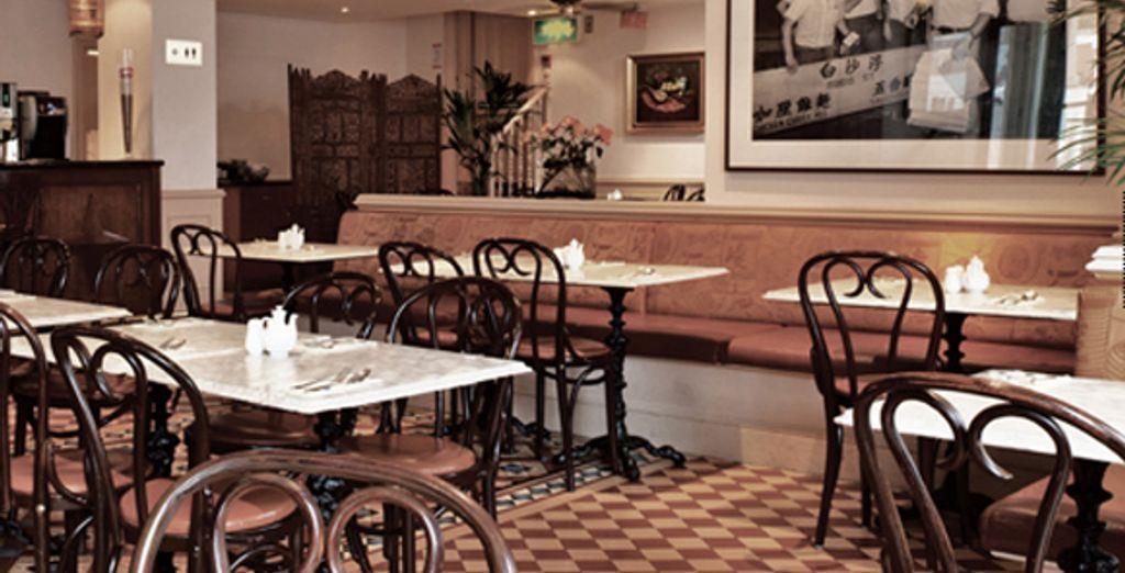 Un des restaurants