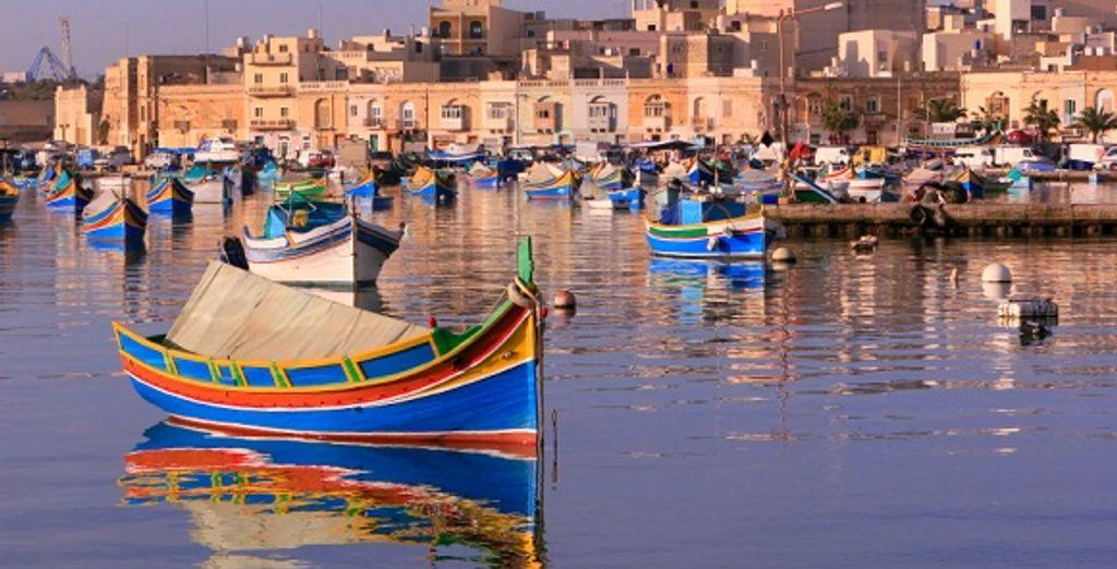 Les célèbres barques maltaises