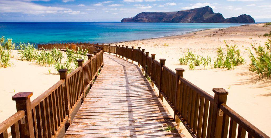 Rendez-vous sous le soleil de Madère, à quelques pas de la plage...