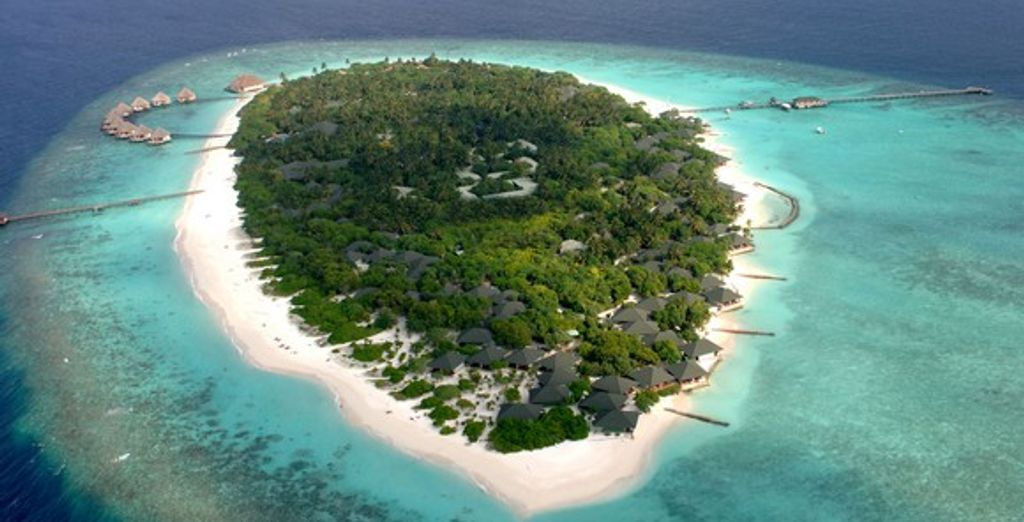 L'île de Meedhupparu dans l'atoll Raa - Adaaran Select Meedhupparu **** Malé