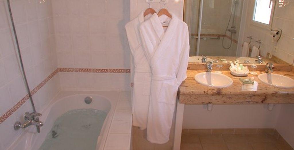 L'appartement : la salle de bains