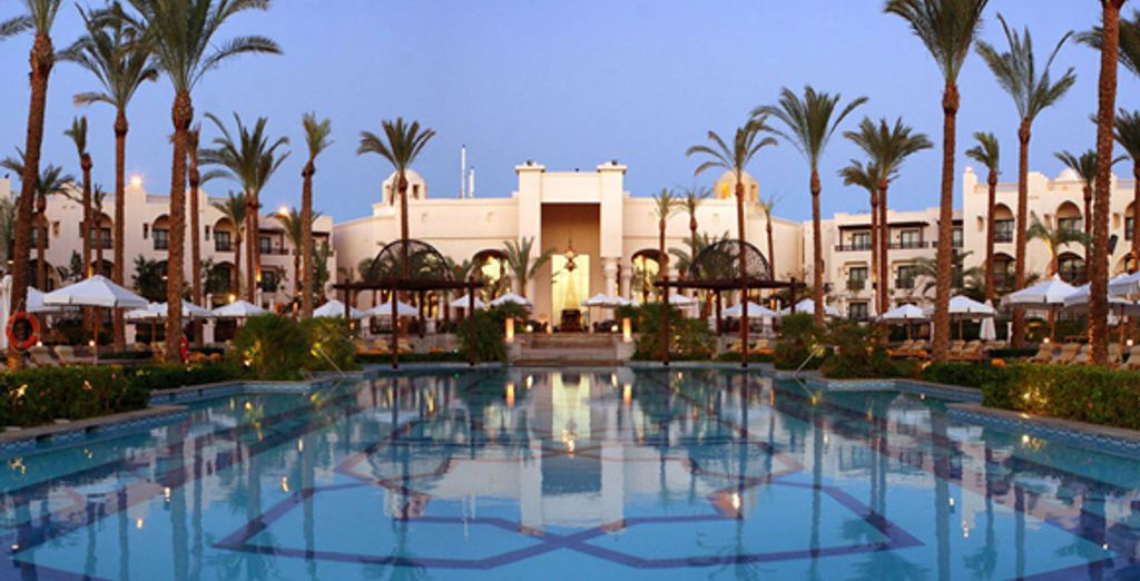 La piscine de l'hôtel - Intercontinental The Palace ***** Port Ghalib