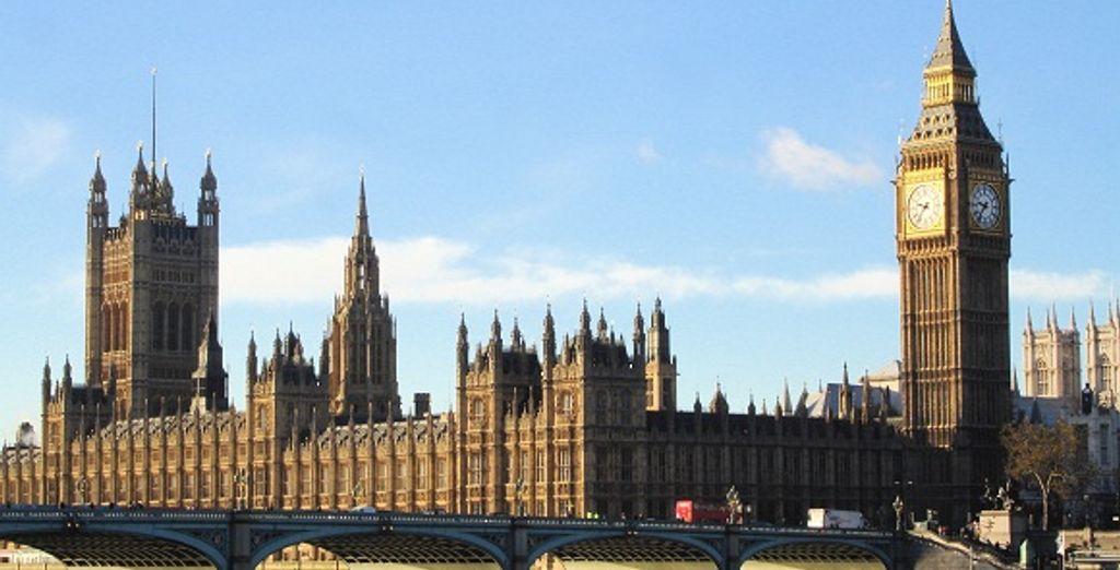 Buckingham Palace et Big Ben