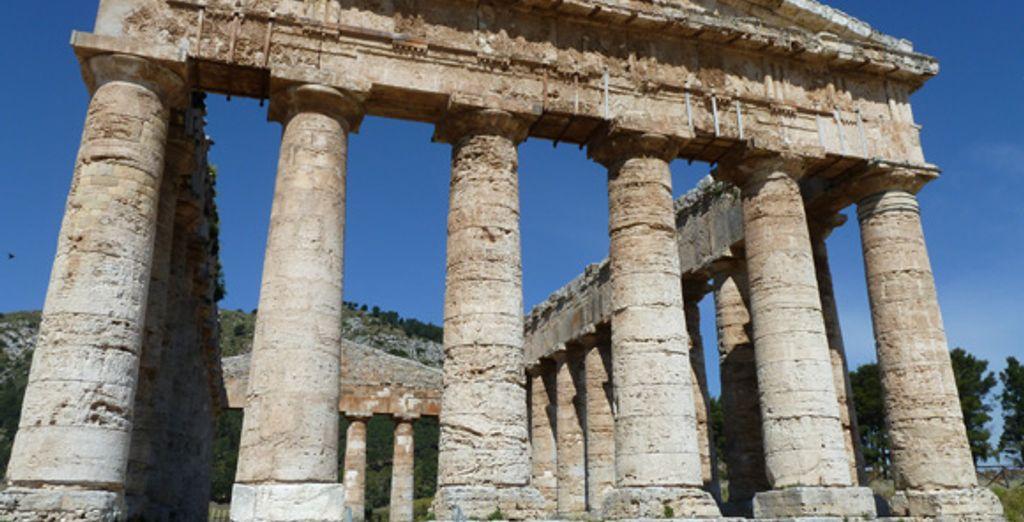 Le temple Segesta, véritable chef-d'œuvre grec