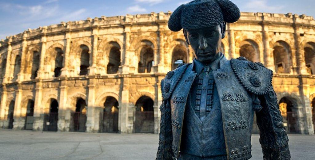 Un séjour entre Nîmes