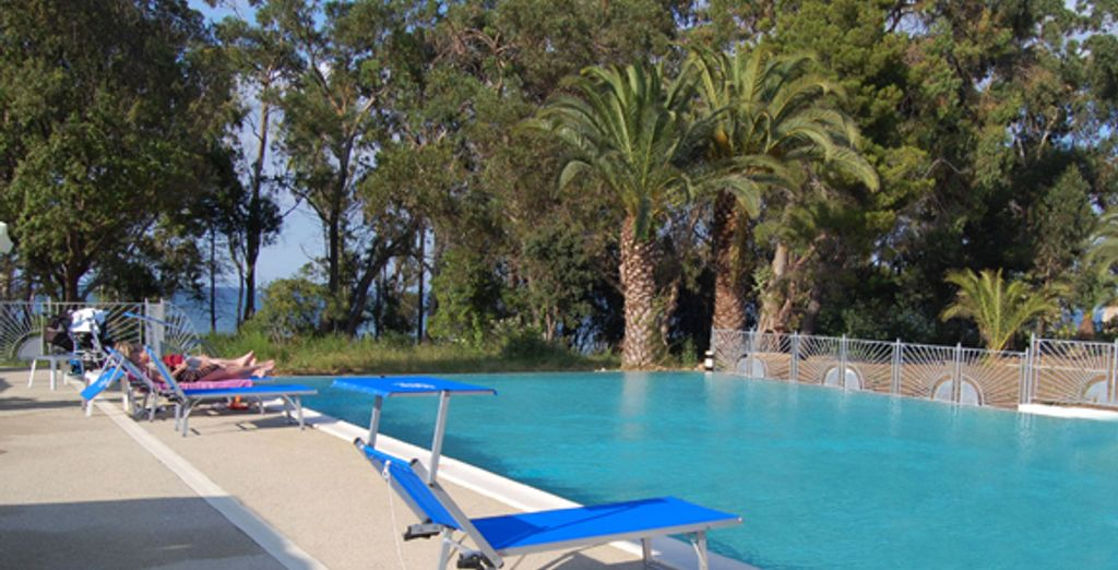 La piscine - Résidence Perla d'Isula Linguizzetta