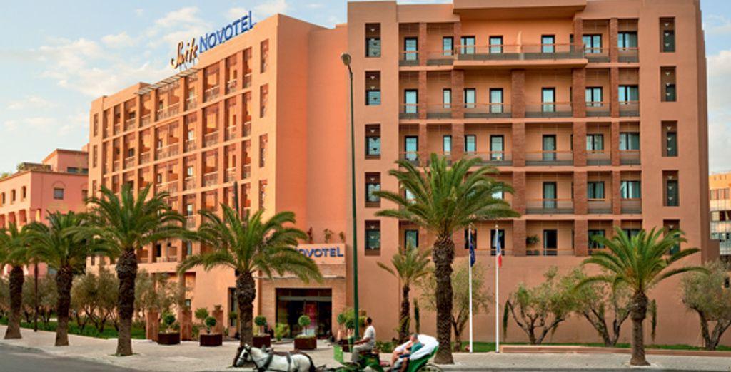 Situé au cœur de Marrakech