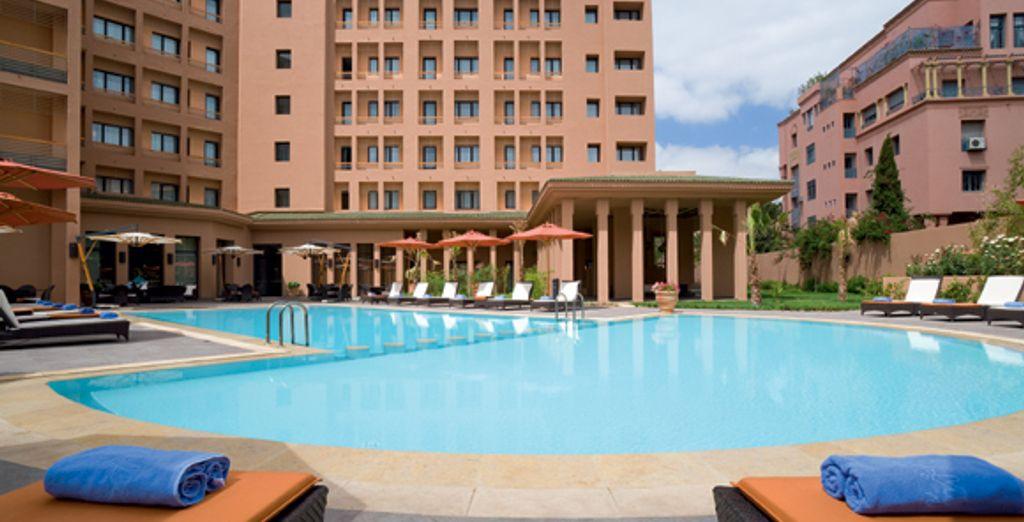 Une charmante piscine... - Suite Novotel **** Marrakech