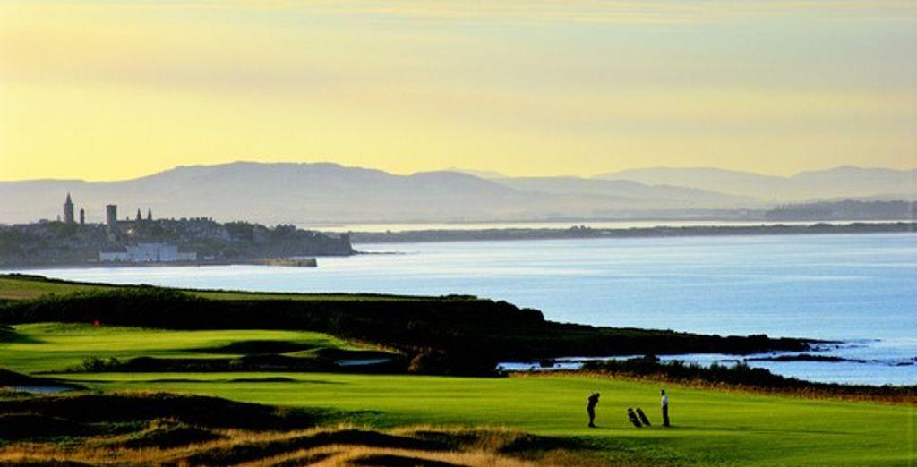 Jouez au golf dans un décor sublime