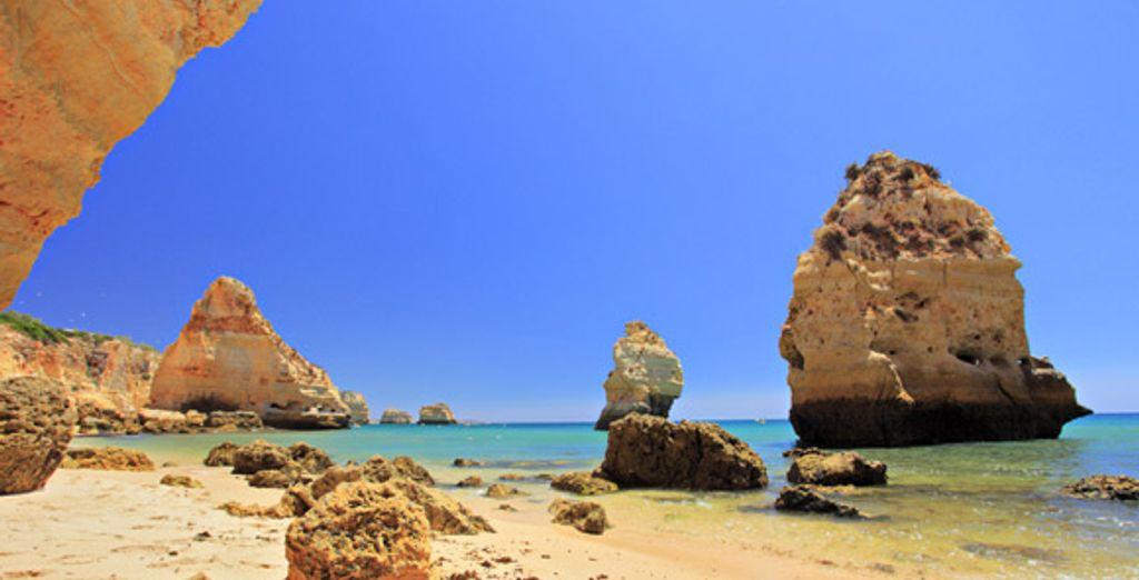 Découvrez les magnifiques paysages de l'Algarve