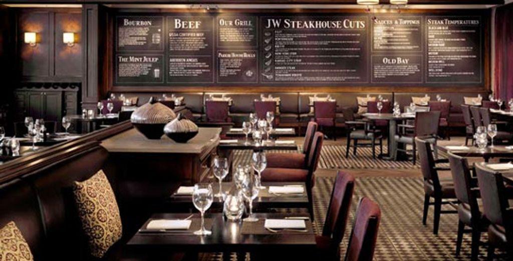 Le restaurant &#34JW Steakhouse&#34