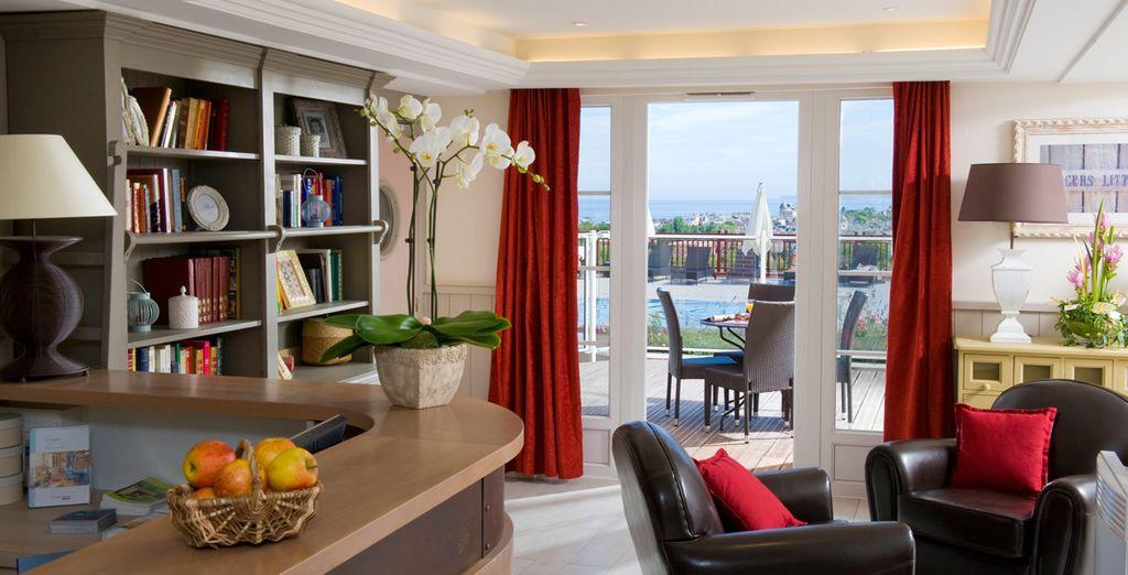 Vous accueille dans une ambiance charmante - Résidence Pierre & Vacances Premium & Spa Houlgate Houlgate