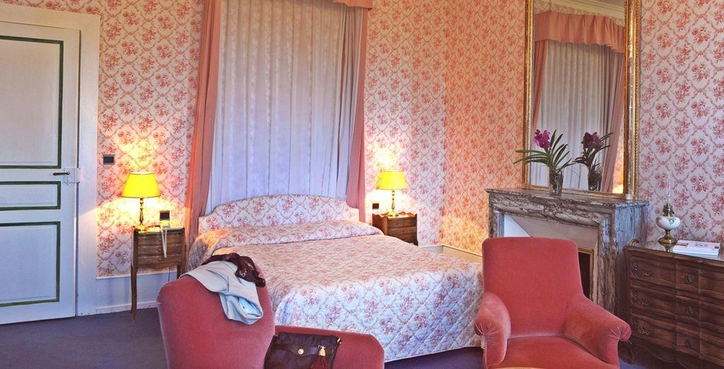 Installez-vous dans votre chambre Supérieure, Deluxe ou votre Junior Suite