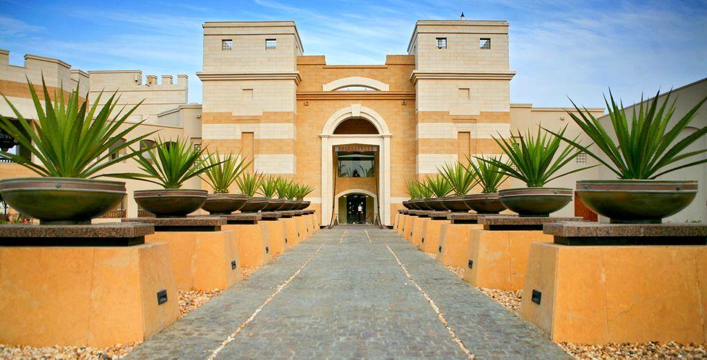 ... vous ouvre ses portes - Intercontinental The Palace 5* Port Ghalib