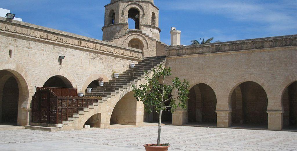 Avec notamment sa superbe mosquée