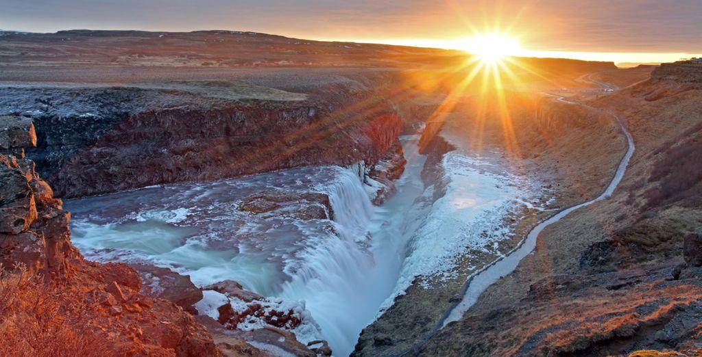 Vous serez émerveillé devant des paysages grandioses...